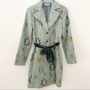 CAbi Guinevere Tapestry Brocade Jacket Coat